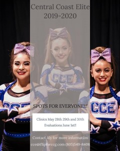CCE Cheer Tryouts