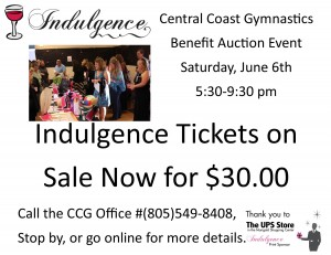 Indulgence Tickets on sale now 2015