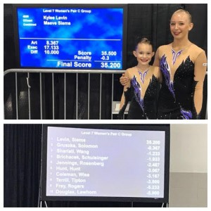 Level 7 Pair 2017 National Champions
