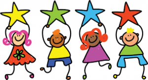 children-clipart-with-stars