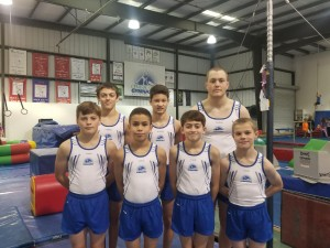 2018 Boys Gymnastics Optional TEAM at CCG