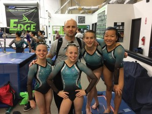 Girls Level 8 Team at Edge 2017