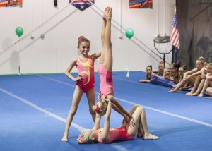 2018 Acro Trio Level 5 acro showcase
