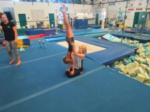 acro at camp