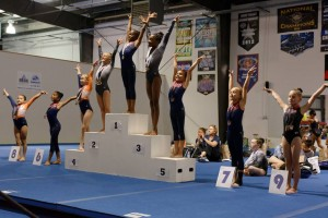 2017 SLO Gym Fest awards Level 3 Sunday