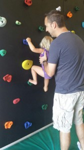 PP Lexi climbing the wall progression 5