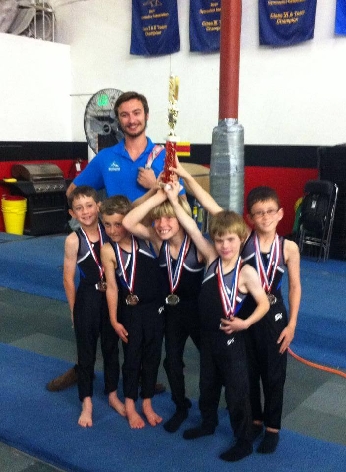 Boys L4 team trophy 2015