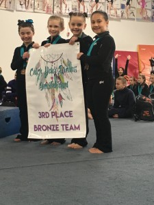Bronze Xcel 2018 3rd place team