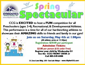 spring Spectacular 4 on a page flyer (1) 2019